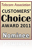 Customers' Choice Award 2011 Nominee